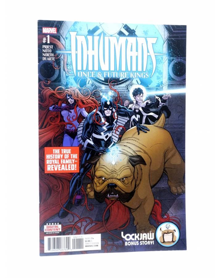 Cubierta de INHUMANS ONCE & FUTURE KINGS 1 (Priest / Noto) Marvel 2017. VF