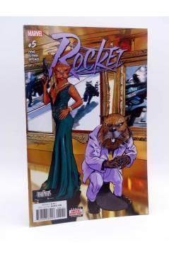 Cubierta de ROCKET 5 (Ewing / Gorham / Garland) Marvel 2017. VF