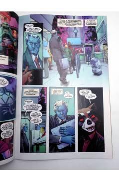 Contracubierta de ROCKET 5 (Ewing / Gorham / Garland) Marvel 2017. VF
