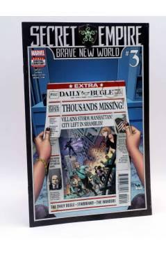 Cubierta de SECRET EMPIRE 3. BRAVE NEW WORLD (Vvaa) Marvel 2017. FN