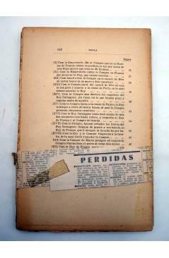 Contracubierta de HISTORIA DE L'ESFORÇAT CAVALLER PARTINOBLES.. Barcelona s/f. SIN ENCUADERNAR Y SIN CUBIERTAS