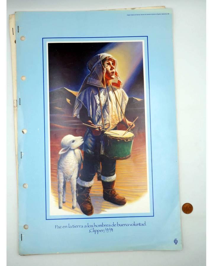 Cubierta de REVISTA CLIPPER CREATIVE ART SERVICE 32752. INCOMPLETA. 48X315 CM. RARA (Vvaa) Dynamic Graphics Inc 1989