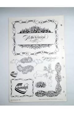 Muestra 2 de REVISTA CLIPPER CREATIVE ART SERVICE 32752. INCOMPLETA. 48X315 CM. RARA (Vvaa) Dynamic Graphics Inc 1989