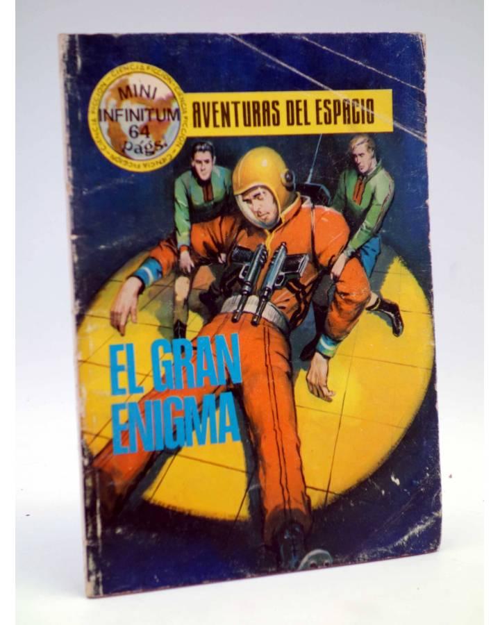 Cubierta de MINI INFINITUM AVENTURAS DEL ESPACIO 7. EL GRAN ENIGMA. Producciones Editoriales 1980