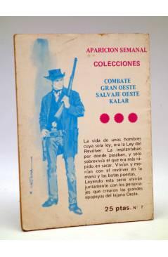 Contracubierta de MINI INFINITUM AVENTURAS DEL ESPACIO 7. EL GRAN ENIGMA. Producciones Editoriales 1980