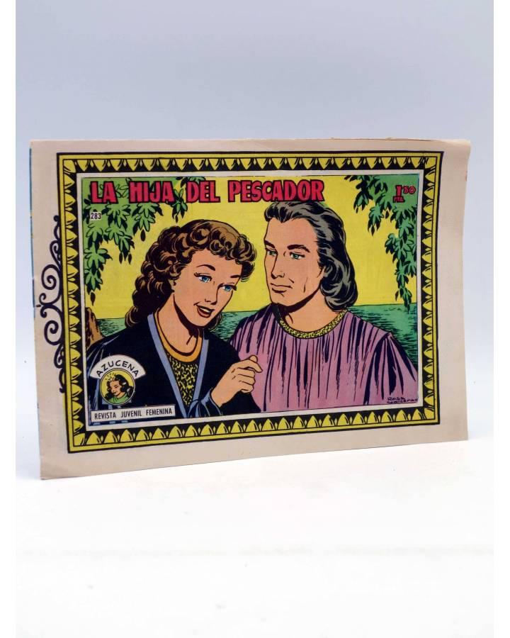 Cubierta de AZUCENA 283. LA HIJA DEL PESCADOR (Violette Rose) Toray Circa 1970