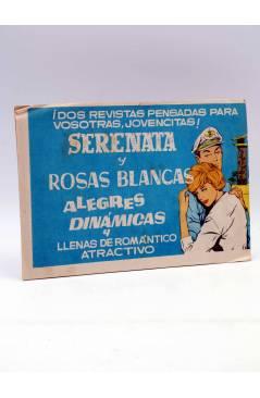 Contracubierta de AZUCENA 283. LA HIJA DEL PESCADOR (Violette Rose) Toray Circa 1970