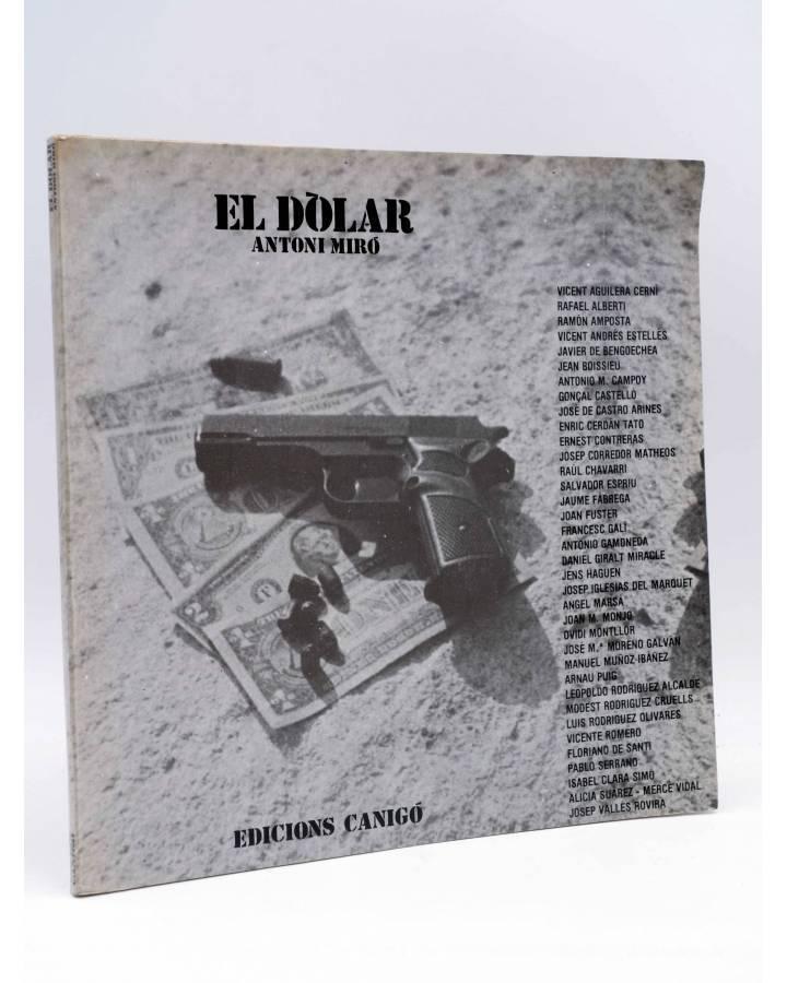 Cubierta de SEPARATA DEL LLIBRE EL DÒLAR (Antoni Miró Y Otros) Canigó 1982. DIFÍCIL