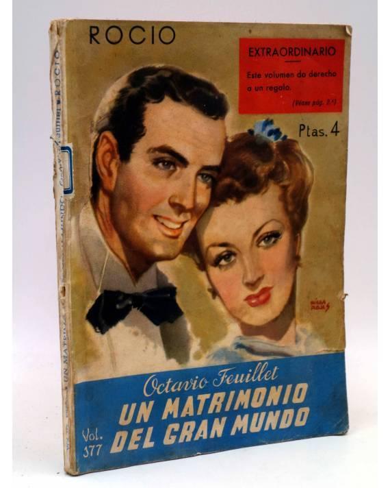 Cubierta de BIBLIOTECA ROCÍO 177 III. UN MATRIMONIO DEL GRAN MUNDO (Octavio Feuillet) Betis Circa 1940