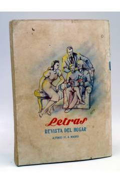 Contracubierta de BIBLIOTECA ROCÍO 177 III. UN MATRIMONIO DEL GRAN MUNDO (Octavio Feuillet) Betis Circa 1940
