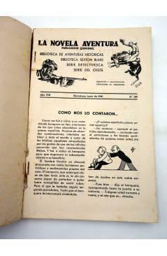 Muestra 1 de LA NOVELA AVENTURA Nº EXTRAORDINARIO 189. EL AGENTE SECRETO NÚMERO 1 (Federico Frost) Hymsa 1940