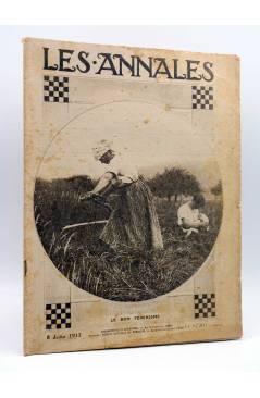 Cubierta de LES ANNALES POLITIQUES ET LITTERAIRES 1776. REVUE UNIVERSELLE. 8 JUILLET 1917. Les Annales Politiques et Lit