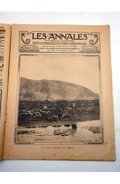 Muestra 1 de LES ANNALES POLITIQUES ET LITTERAIRES 1776. REVUE UNIVERSELLE. 8 JUILLET 1917. Les Annales Politiques et Li