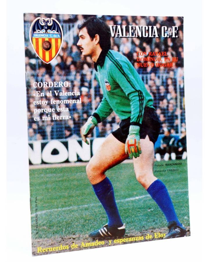 Cubierta de REVISTA OFICIAL VALENCIA C.F 13. VALENCIA CLUB DE FÚTBOL. POSTER CABRAL (Vvaa) Valencia C. de F. 1978