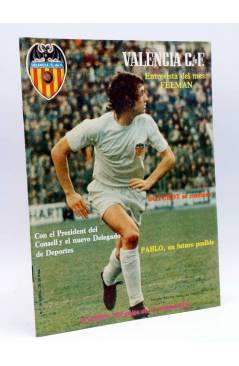 Cubierta de REVISTA OFICIAL VALENCIA C.F 16. VALENCIA CLUB DE FÚTBOL. SIN POSTER (Vvaa) Valencia C. de F. 1978