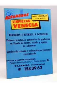 Contracubierta de REVISTA OFICIAL VALENCIA C.F 16. VALENCIA CLUB DE FÚTBOL. SIN POSTER (Vvaa) Valencia C. de F. 1978