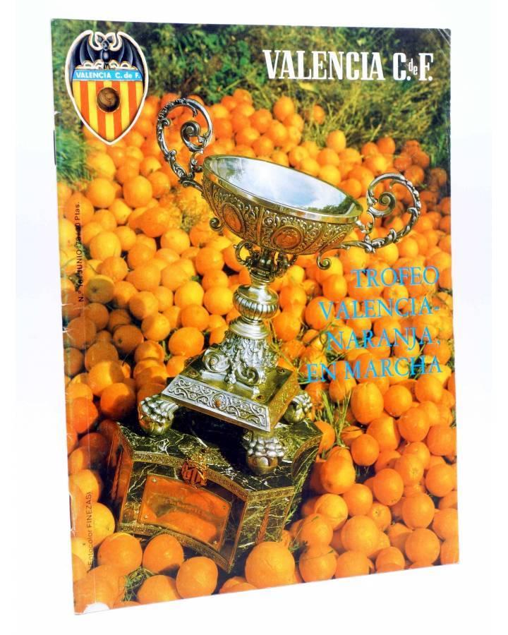 Cubierta de REVISTA OFICIAL VALENCIA C.F 18. VALENCIA CLUB DE FÚTBOL. POSTER SEMPERE (Vvaa) Valencia C. de F. 1978