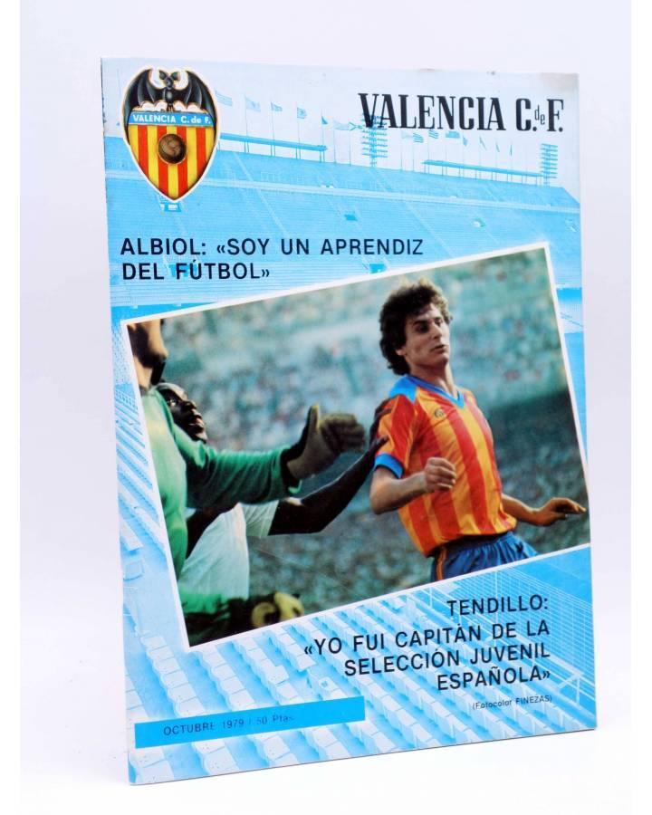 Cubierta de REVISTA OFICIAL VALENCIA C.F 33. VALENCIA CLUB DE FÚTBOL. POSTER FUTURO VALENCIANISTA (Vvaa) Valencia C. de