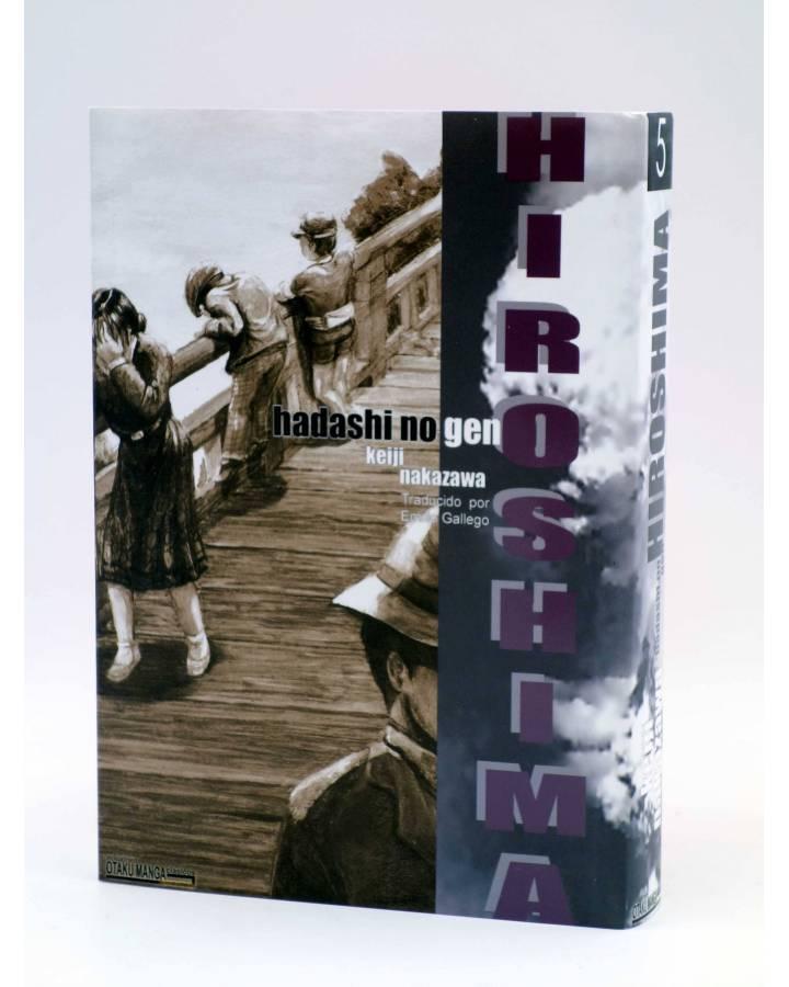 Cubierta de HIROSHIMA - HADASHI NO GEN - 5 (Kieji Nakazawa) Otakuland 2003