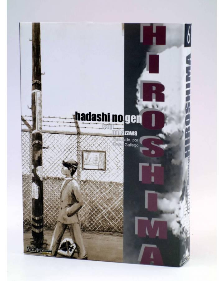 Cubierta de HIROSHIMA - HADASHI NO GEN - 6 (Kieji Nakazawa) Otakuland 2004