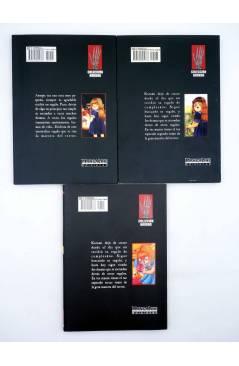 Contracubierta de COLECCIÓN HORROR. PRESENT 1 2 Y 3. COMPLETA (Kanako Inuki) Mangaline 2004