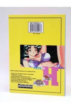 Contracubierta de YURA Y MAKOTO - FUTARI ETCHI - 18 (Katsu Aki) Mangaline 2006