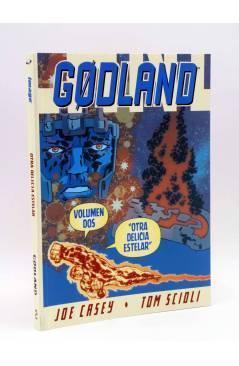 Cubierta de GODLAND VOLUMEN 2. OTRA DELICIA ESTELAR (Joe Casey / Tom Scioli) Saturno 2008