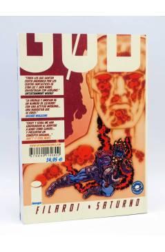 Contracubierta de GODLAND VOLUMEN 2. OTRA DELICIA ESTELAR (Joe Casey / Tom Scioli) Saturno 2008