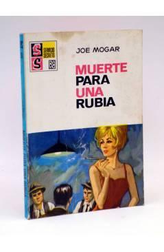 Cubierta de SS SERVICIO SECRETO 991. MUERTE PARA UNA RUBIA (Joe Mogar) Bruguera Bolsilibros 1969
