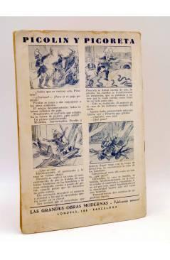Contracubierta de EL CUENTO DEL NIÑO 7. GULLIVER EN LILIPUT. Barcelona Circa 1930