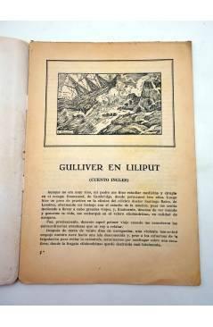Muestra 1 de EL CUENTO DEL NIÑO 7. GULLIVER EN LILIPUT. Barcelona Circa 1930