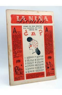 Contracubierta de CUCÚ 16. SEMANARIO FESTIVO (Vvaa) Gráficas Madrid 1944