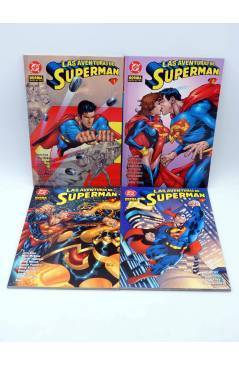 Contracubierta de LAS AVENTURAS DE SUPERMAN 1 A 10. COMPLETA (Vvaa) Norma 1995