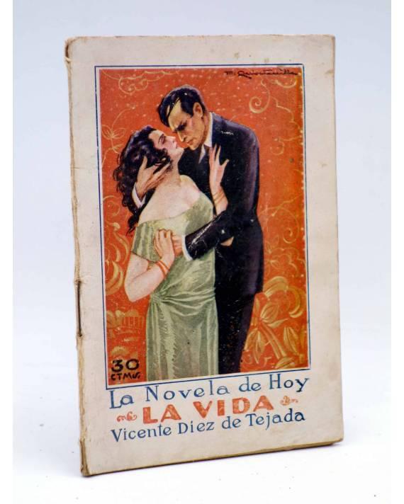 Cubierta de LA NOVELA DE HOY 194. LA VIDA (Vicente Díez De Tejada / Quintanilla) Atlántida 1926