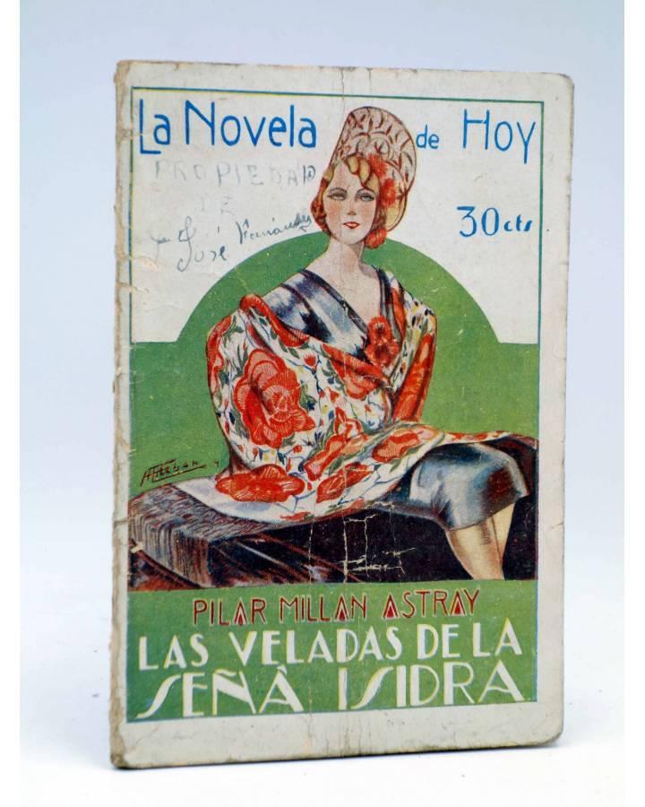 Cubierta de LA NOVELA DE HOY 394. LAS VELADAS DE LA SEÑÁ ISIDRA (Pilar Millán Astray / Esteban) Atlántida 1929