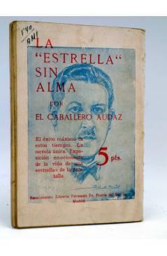 Contracubierta de LA NOVELA DE HOY 439. UNA PENA DE MUERTE (R. Martí Orberá / Pomareda) Atlántida 1930
