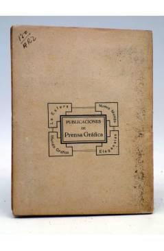 Contracubierta de LA NOVELA SEMANAL 142. EL HIJO PRÓDIGO Y SU PADRE (Francis De Miomandre) Prensa Gráfica 1924