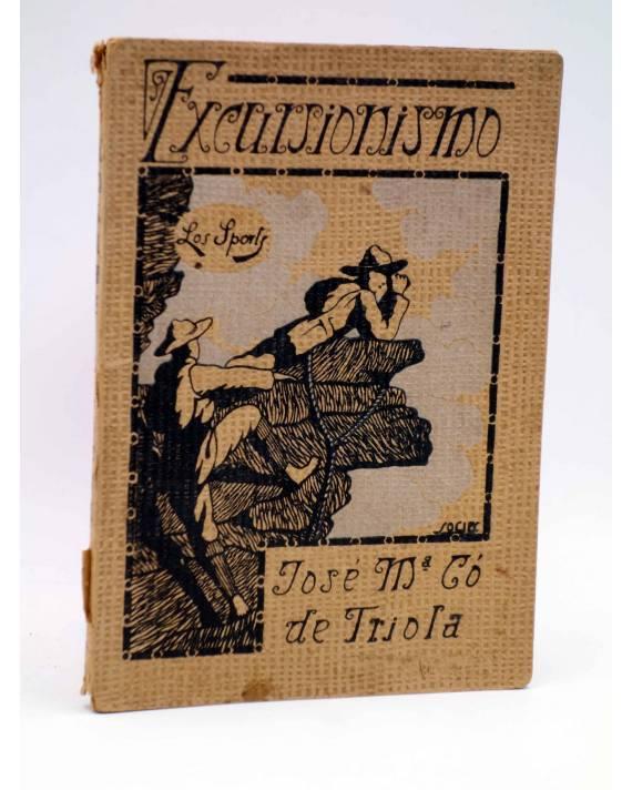 Cubierta de LOS SPORTS 14. EXCURSIONISMO (José Mª Co De Triola / Francisco Socies) Sintes 1930