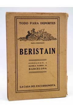 Contracubierta de LOS SPORTS 14. EXCURSIONISMO (José Mª Co De Triola / Francisco Socies) Sintes 1930