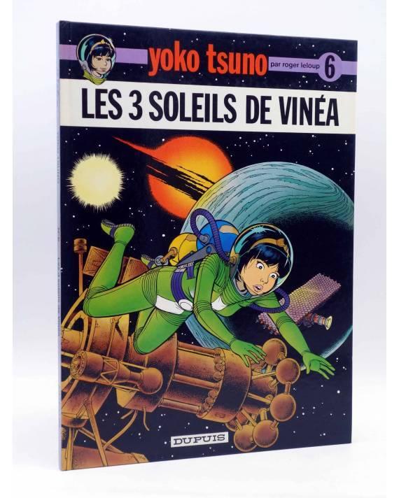 Cubierta de YOKO TSUNO 6. LES 3 SOLEILS DE VINÉA (Roger Leloup) Dupuis 1978