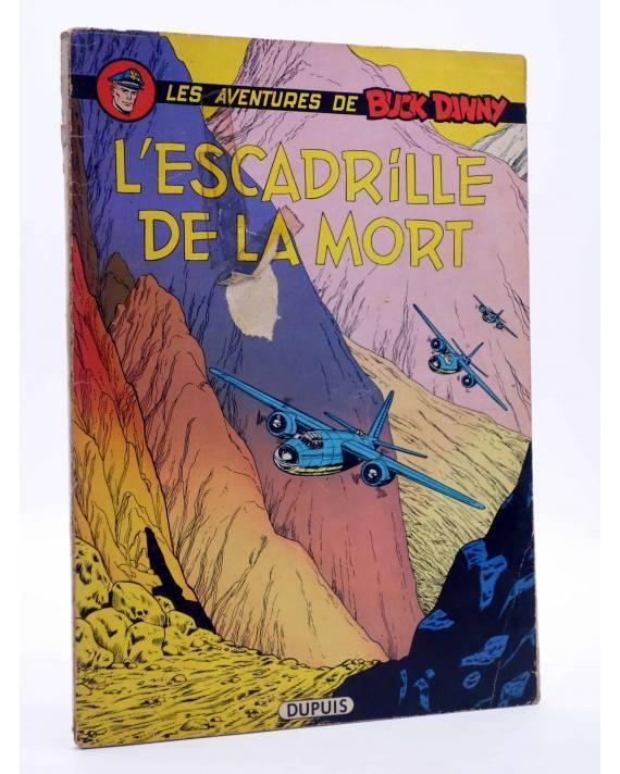 Cubierta de LES AVENTURES DE BUCK DANNY 35. L'ESCADRILLE DE LA MORT (J.M. Charlier / V Hubinon) Dupuis 1968. EO