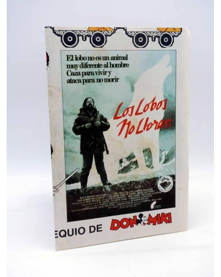 Cubierta de POSTER OBSEQUIO DON MIKI LOS LOBOS NO LLORAN. ICONA Y WALT DISNEY TE ACONSEJAN…. Montena Circa 1976