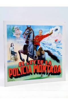 Cubierta de EL REY DE LA POLICIA MONTADA. ALBUM DE CROMOS COMPLETO (Guzmaga) Fher Circa 1990