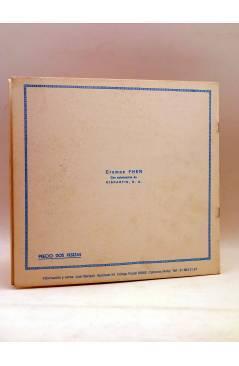 Contracubierta de EL REY DE LA POLICIA MONTADA. ALBUM DE CROMOS COMPLETO (Guzmaga) Fher Circa 1990