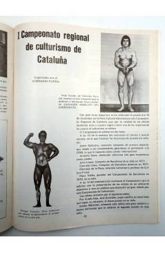 Muestra 4 de REVISTA LAS PESAS FISICO CULTURISMO Y HALTEROFILIA 125. AHMET ENULU (Vvaa) Alas 1974