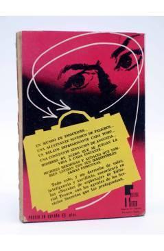 Contracubierta de NOVELAS DE ESPIONAJE 25. ATENTADO SINIESTRO (Fox Duffi) Tesoro 1964