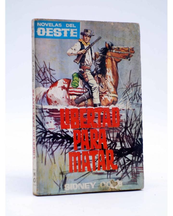 Cubierta de NOVELAS DEL OESTE 59. LIBERTAD PARA MATAR (Sidney Cox) Tesoro 1964