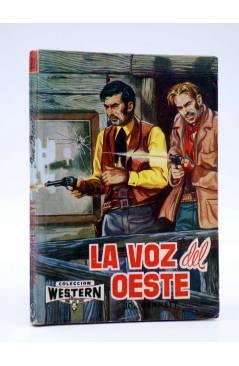 Cubierta de COLECCIÓN WESTERN 20. LA VOZ DEL OESTE (Joe Bennet) Valenciana 1962