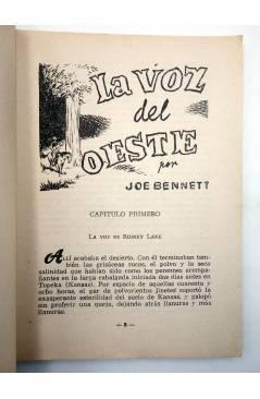 Muestra 2 de COLECCIÓN WESTERN 20. LA VOZ DEL OESTE (Joe Bennet) Valenciana 1962