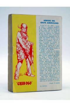 Contracubierta de COLECCIÓN WESTERN 23. MARCADO PARA MORIR (Mortimer Cody) Valenciana 1962